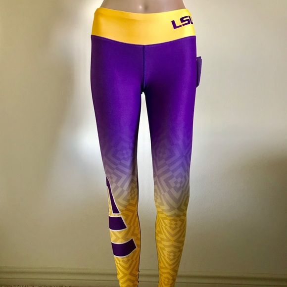 492fe0d08523d Forever Collectibles Pants | Ncaa Lsu Tigers Leggings | Poshmark